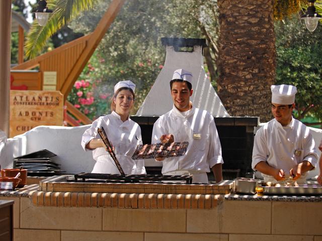 Atlantica Princess Hotel: Cooking