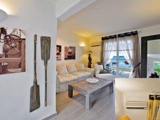 SunPrime Miramare Beach: Living room of waterfront villa