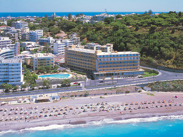 Belvedere Beach Hotel - Exterior View