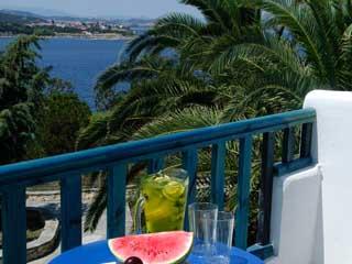 Agionissi Resort - View from Balcony