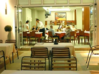 Kronos Hotel: Restaurant