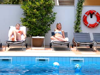Kronos Hotel: Swimming Pool
