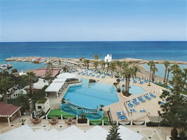 Carte Chypre Protaras.Golden Coast Beach Hotel Hotel De Luxe A Protaras