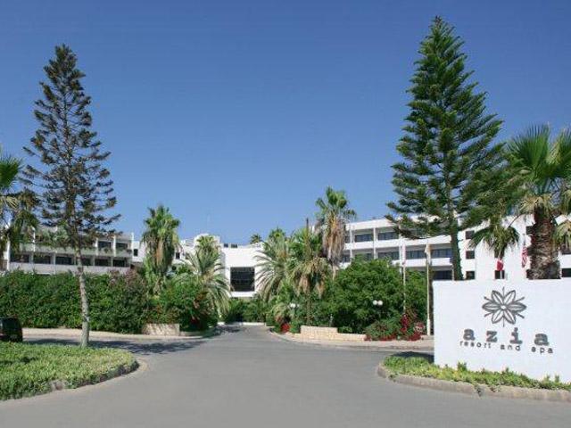 Azia Resort & Spa: Entrance Exterior View