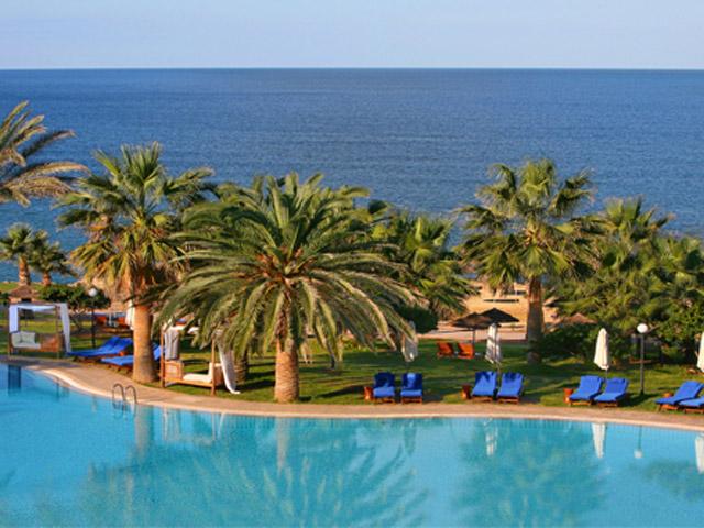 Azia Resort & Spa: Pool Area Exterior View