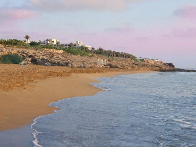 Azia Resort & Spa: Beach Area