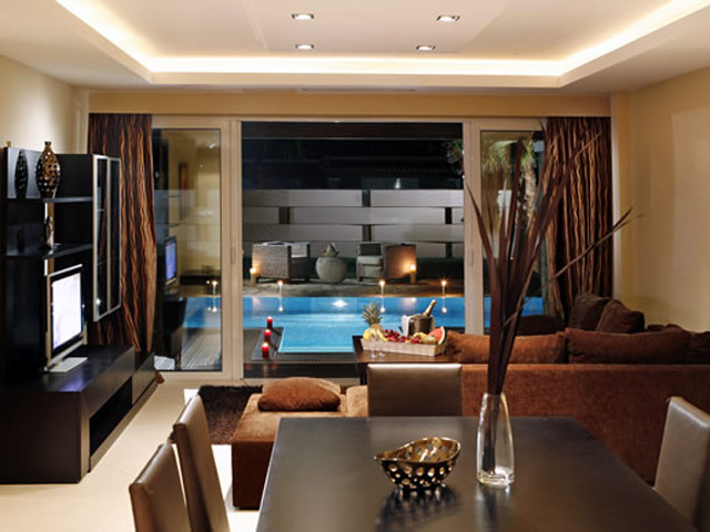 Olympia Golden Beach: Living Room
