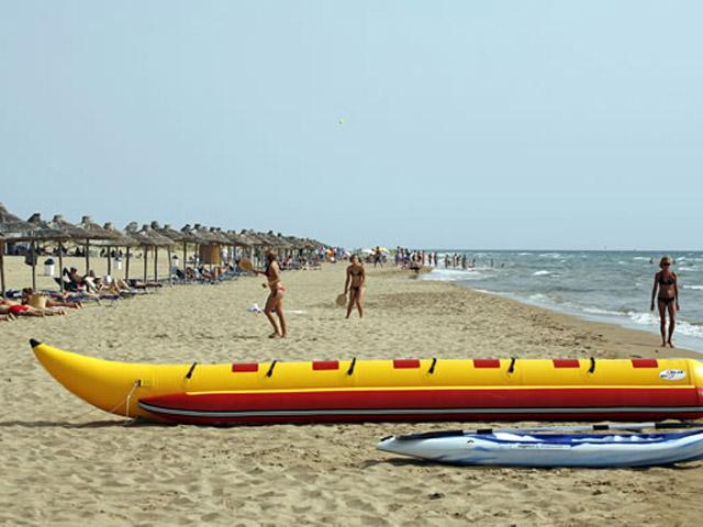 Olympia Golden Beach: Beach