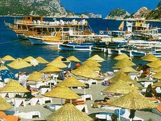 Aqua Hotel: Beach