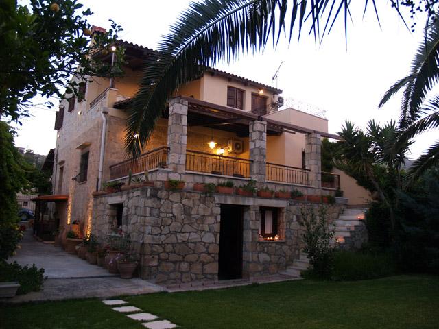 Arhontariki Manor House - Exterior View