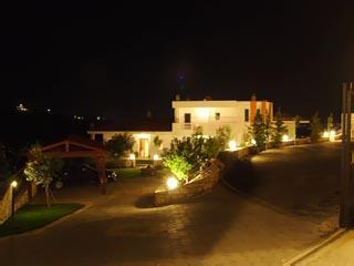 Exterior View at Night