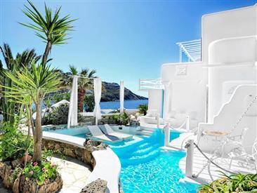 Kivotos Mykonos Hotel, hôtel de luxe villa de luxe à Ornos ...