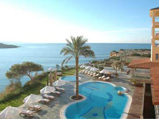 Thalassa Boutique Hotel & Spa: Exterior View Pool Area