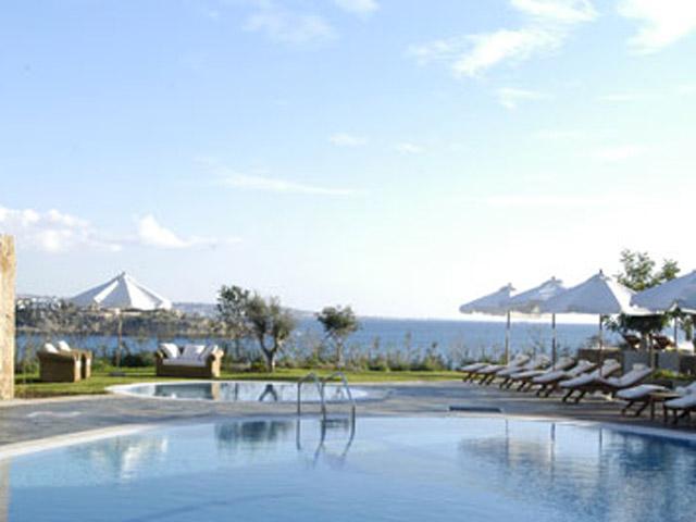Thalassa Boutique Hotel & Spa: Pool Area
