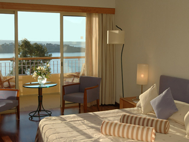 Thalassa Boutique Hotel & Spa: Double Sea View Room