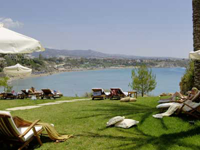 Thalassa Boutique Hotel & Spa: Ipokambos Beach Bar