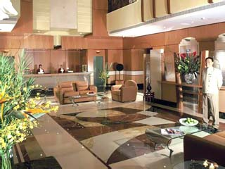 Al Maha Rotana Suites: Reception