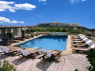 Novotel Athens Hotel - Swimming Pool