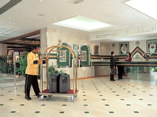 Beach Hotel by Bin Majid Hotels & Resorts: Reception