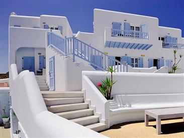 Petinos Beach Hotel, hôtel de luxe à Platis Gialos - Mykonos - Îles ...