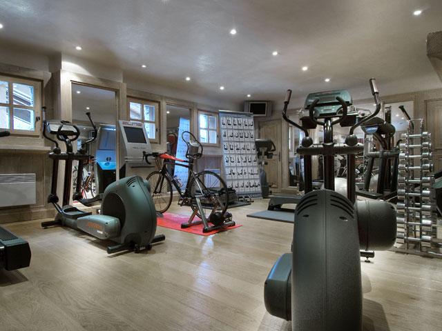 Le Kilimandjaro Hotel: Gym