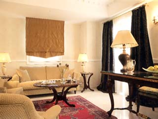 Grand Hotel Palace: Living room