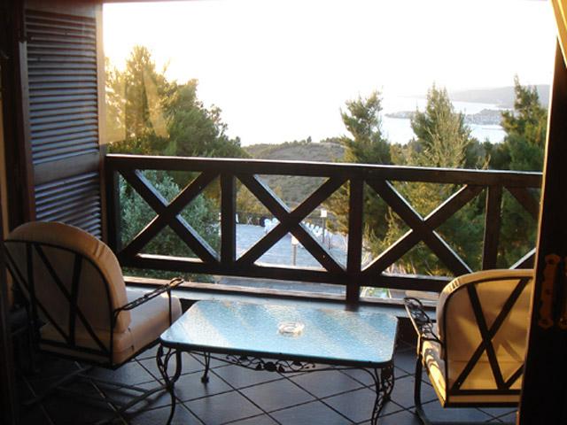 Porto Carras - Villa Galini: Balcony