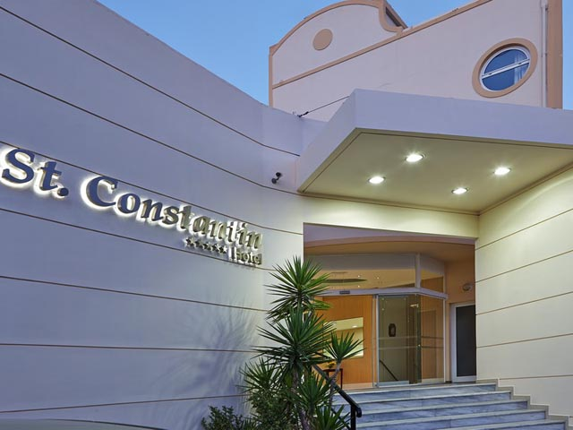 Special Offer for Saint Constantin Hotel - Book Early for 2018 and save up to 33%! till 28.02.19 !!