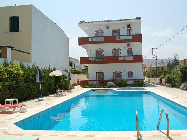Haris Apartments Kokkini Hani -