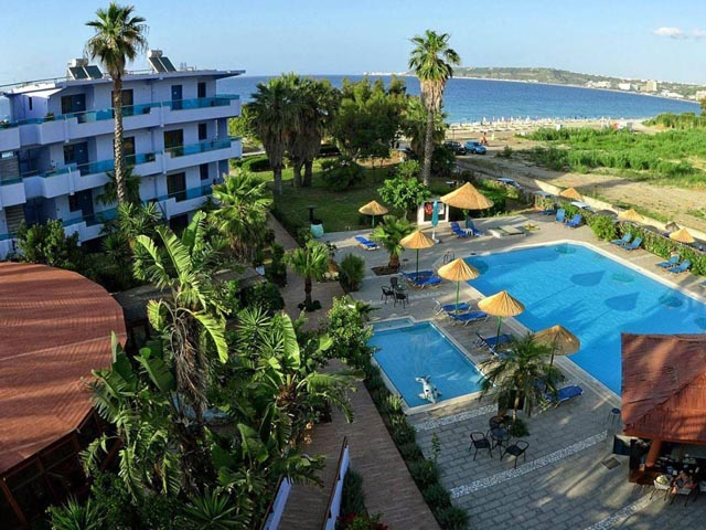 Area Blue Beach Apartments: