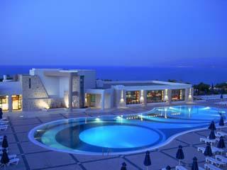 Main Swimming Pool at Night