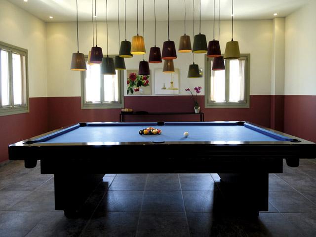 Emelisse Art Hotel: Billards