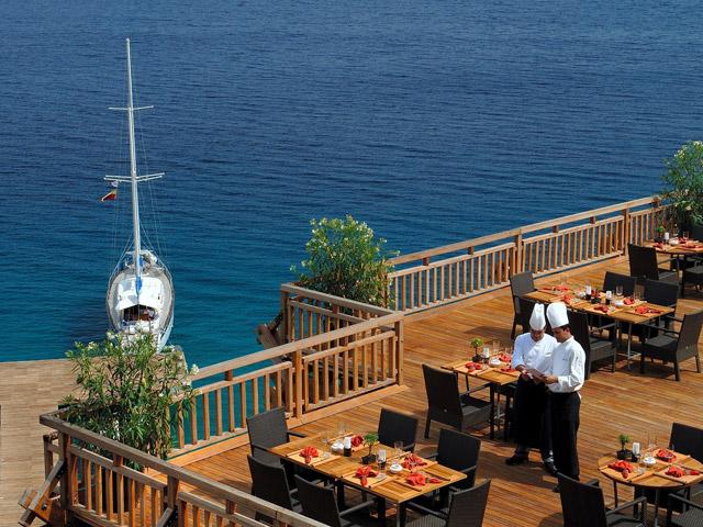 Kempinski Hotel Barbaros Bay: Restaurant