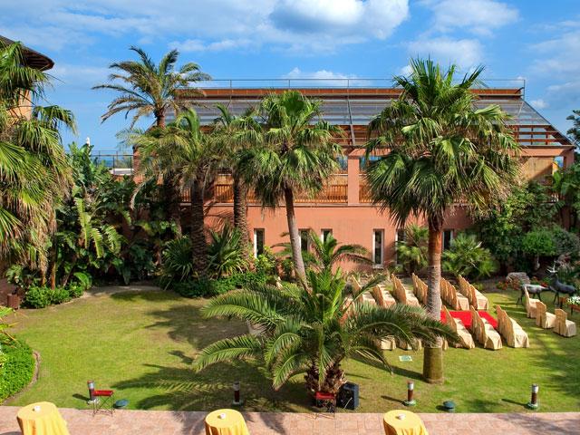 Gran Hotel Elba Estepona & Thalasso Spa: Garden