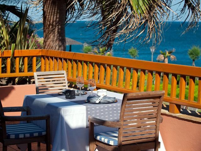 Gran Hotel Elba Estepona & Thalasso Spa: Outdoor Restaurant