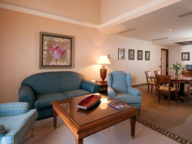 Gran Hotel Elba Estepona & Thalasso Spa: Living Room