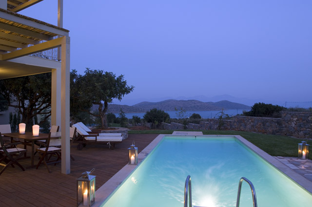 Elounda Carob Valley Villas Pool