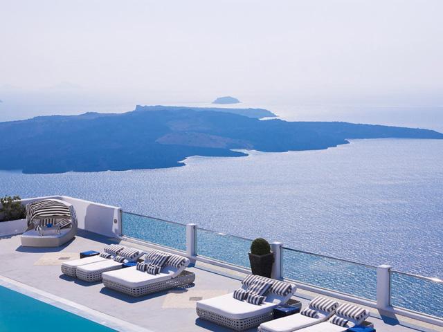 Belvedere Suites Santorini: Pool Area