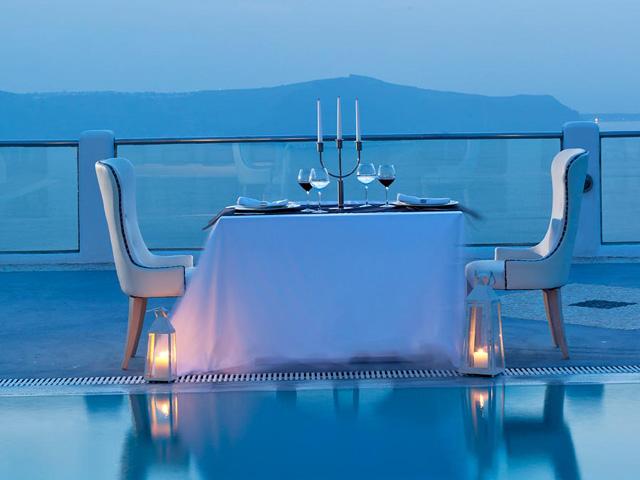 Belvedere Suites Santorini: Dinning Area