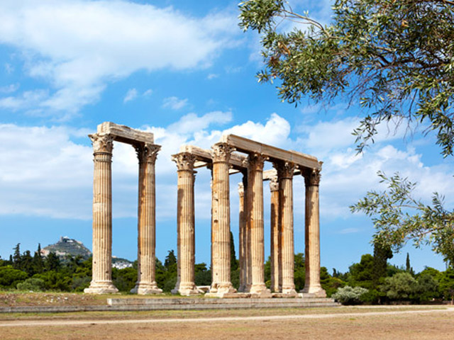 Local Area - Corinthian Columns of the Olympian Zeus Temple