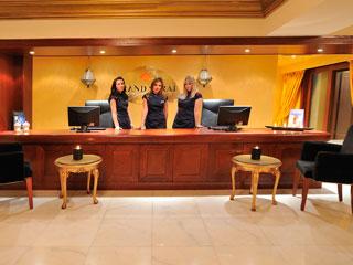 Grand Serai Hotel: Spa Reception