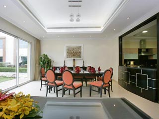 Coral Boutique Villas: Dining Room