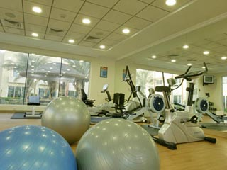 Coral Boutique Villas: Gym