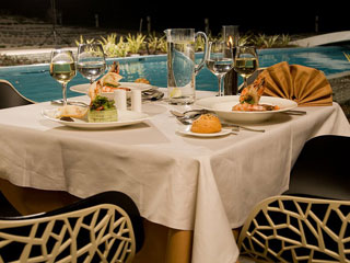 Elysium Resort & Spa: Restaurant