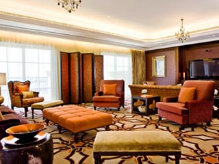 The Westin Dubai Mina Seyahi Beach Resort & Marina: Presidential Suite Lounge