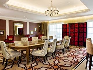 The Westin Dubai Mina Seyahi Beach Resort & Marina: Presidential Suite Dining Room