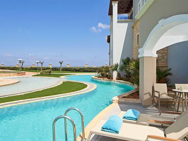 Atlantica Sensatori Resort (Ex Atlantica Caldera Palace): Stone Grill Restaurant