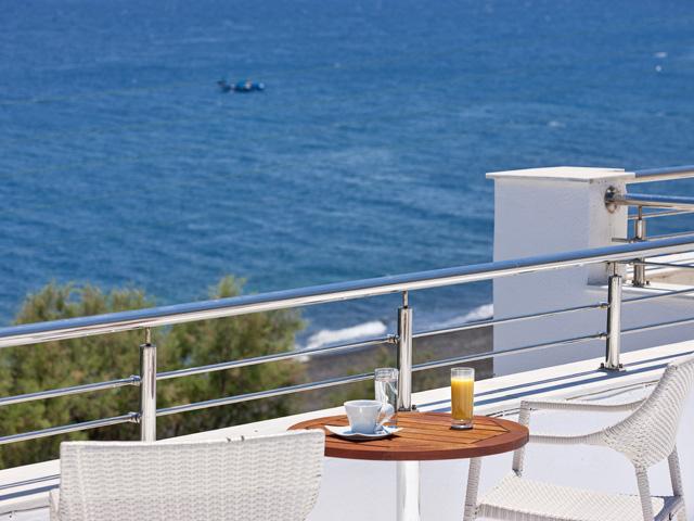Alesahne Beach Hotel: Balcony