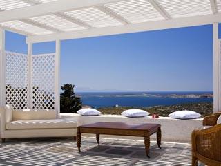 Yria Ktima Luxury Villa: Main Veranda