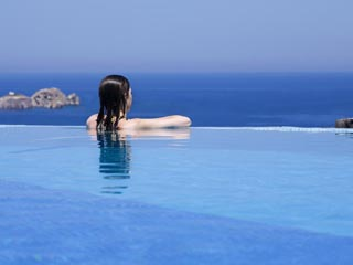 Yria Ktima Luxury Villa: Pool View